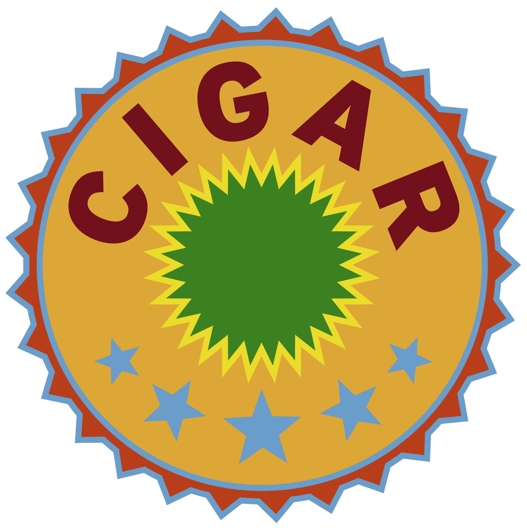 Cigar Logo Orange